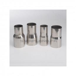Réducteur inox Ø 51mm - 57mm