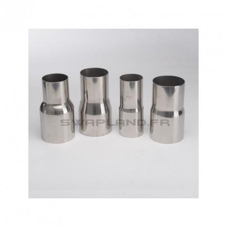 Réducteur inox Ø 51mm - 76mm