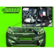 Kit filtre à air Green pour Peugeot 208 GTI 1.6L THP