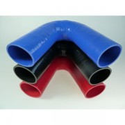 Coude silicone 135°
