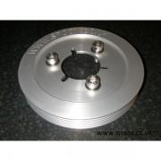 Poulie vilebrequin aluminium 106 s16