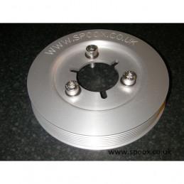 Poulie vilebrequin aluminium 206 xsi