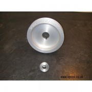 Poulie vilebrequin aluminium 206 RC 180