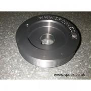 Poulie vilebrequin aluminium 306 s16 bv6
