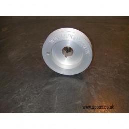 Poulie vilebrequin aluminium 406 tct turbo
