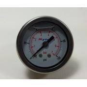 Manomètre Sytec de pression d'essence à glycérine