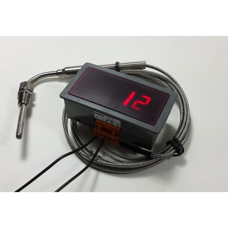 egt manometre de temperature d 39 echappement thermocouple avec sonde swapland. Black Bedroom Furniture Sets. Home Design Ideas