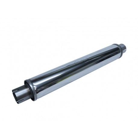 Silencieux inox Simons Tubex 63.5mm