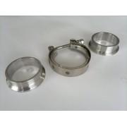 Kit v-band 51mm inox