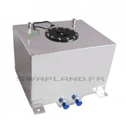 Réservoir essence aluminium avec jauge 30L