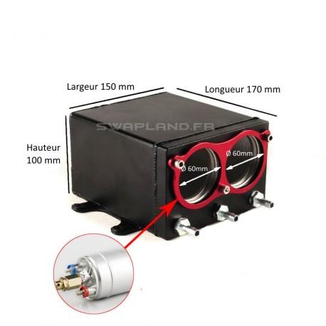 Réservoir tampon pour double Pompe à essence 044