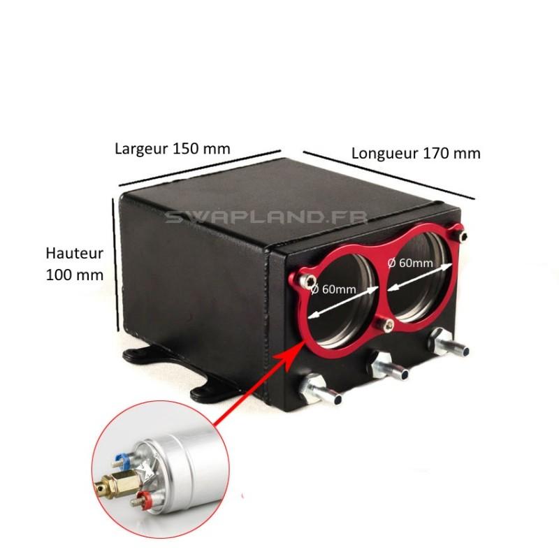r servoir tampon pour double pompe essence 044 swapland. Black Bedroom Furniture Sets. Home Design Ideas